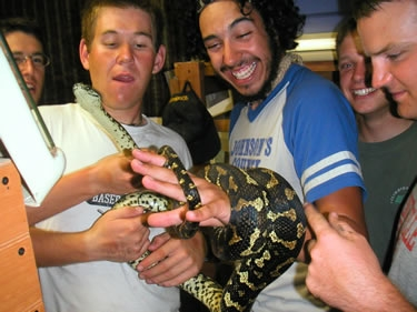 We stayed with Kelly's uncle in Longmont, CO. 