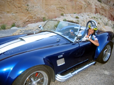 we ran into a utah-cruising cobra club.  and then we traded.